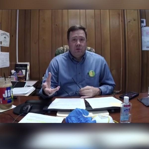 Mayor Brett Lashlee