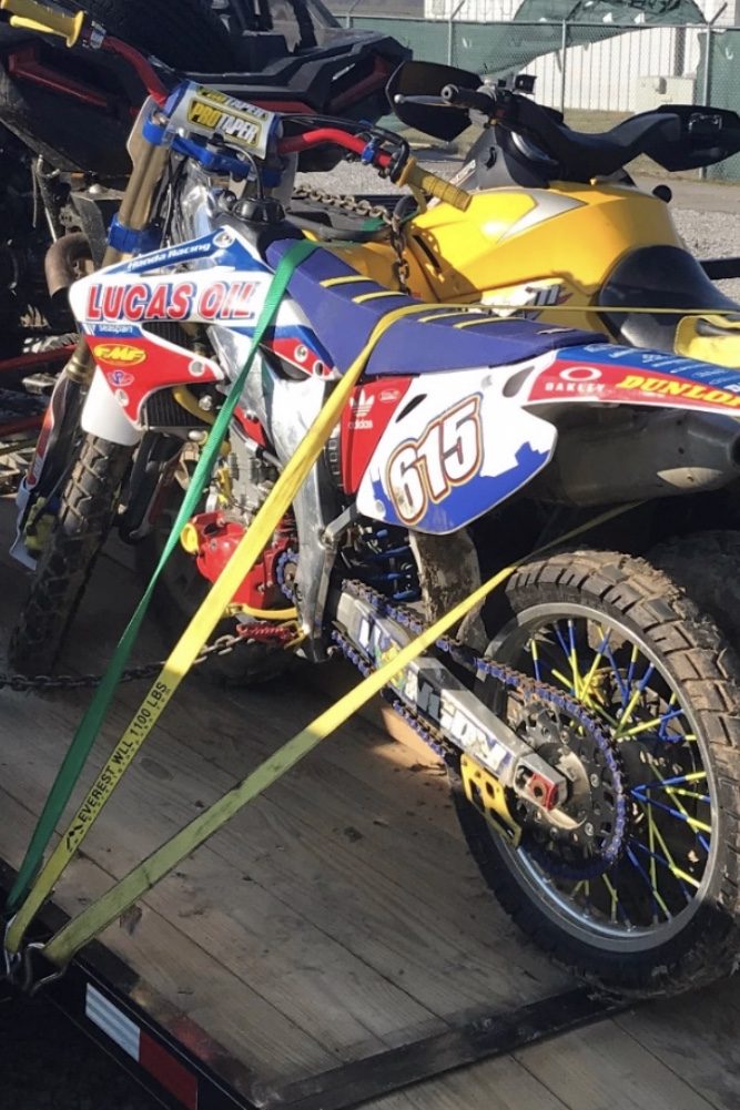 Stolen Dirt Bike