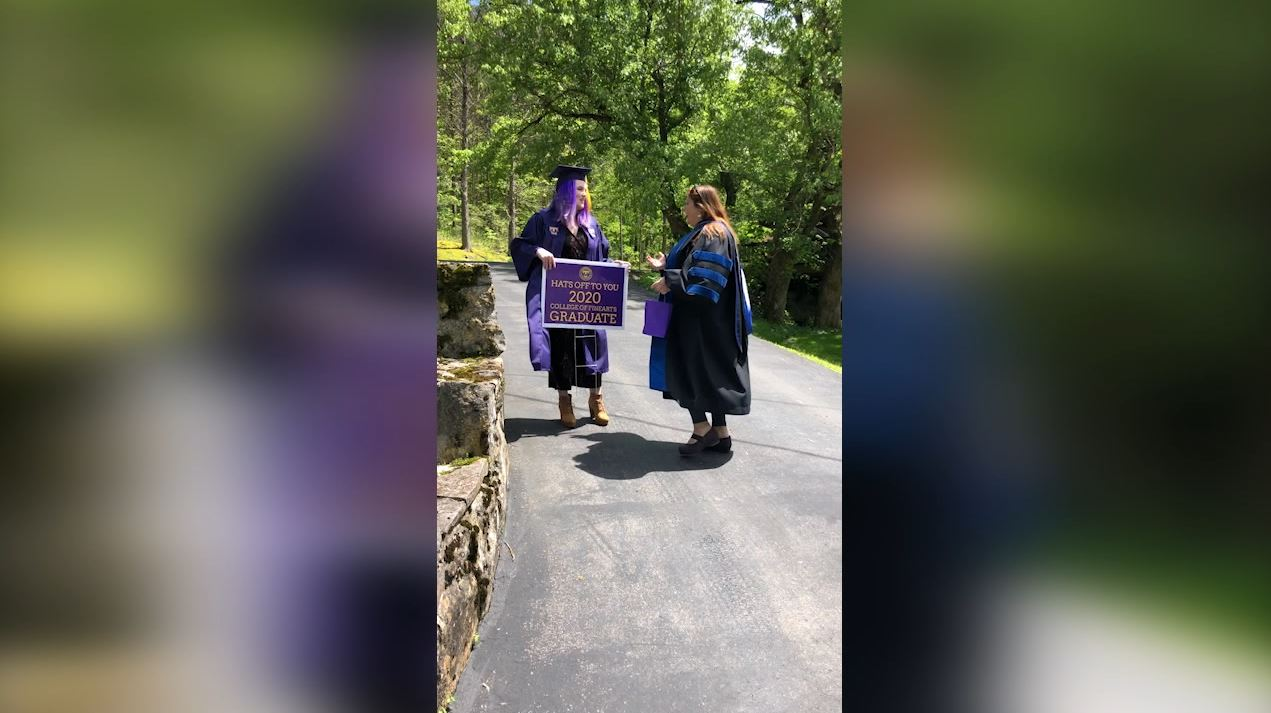 Tennessee Tech COVID graduation