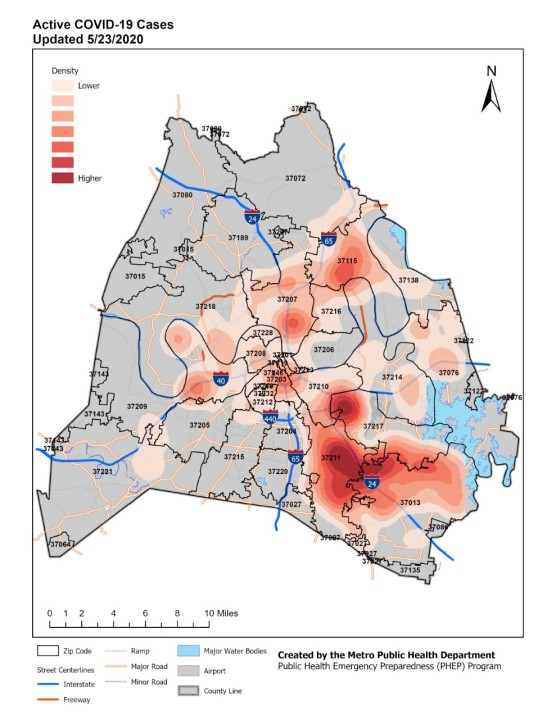 active heatmap