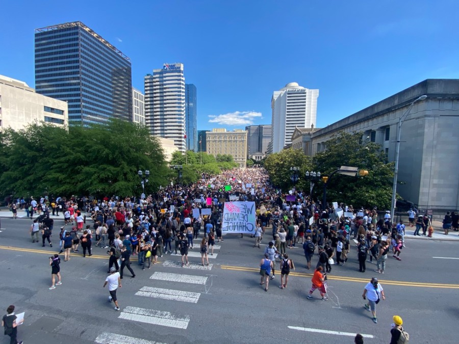 I Will Breathe Rally - 5/30/20 - Photo: WKRN