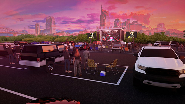 Live Nation Drive in concerts