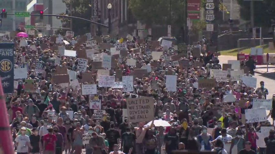 March for Justice - 6/6/2020 - Photo: WKRN
