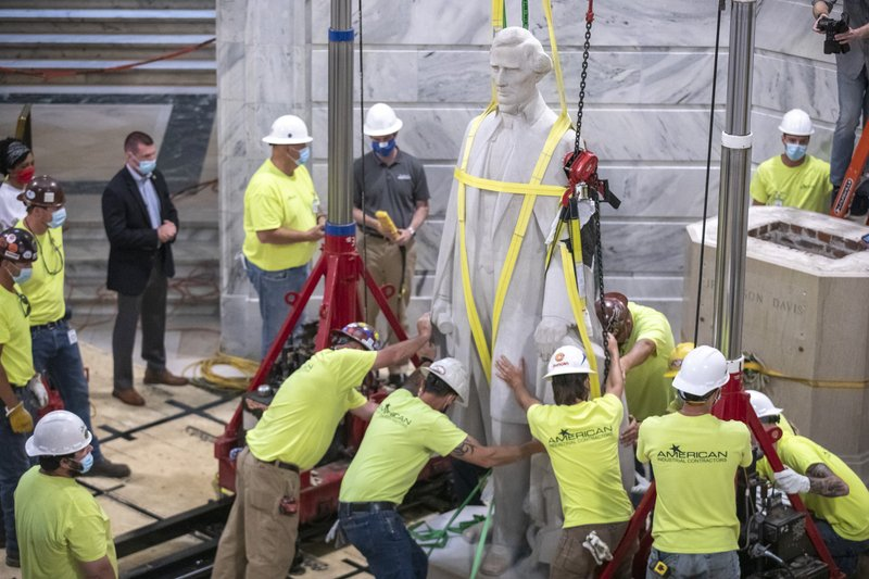 Removal of Jefferson Davis Statue in Kentucky