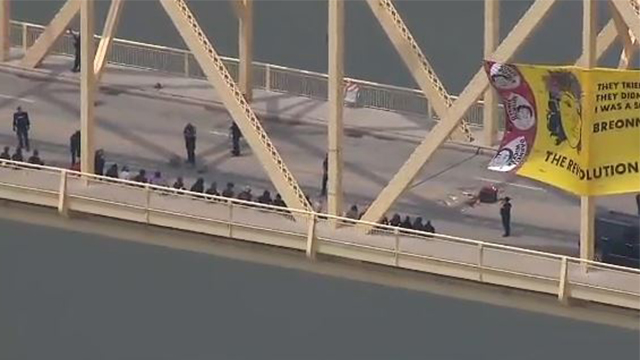 Kentucky bridge protest
