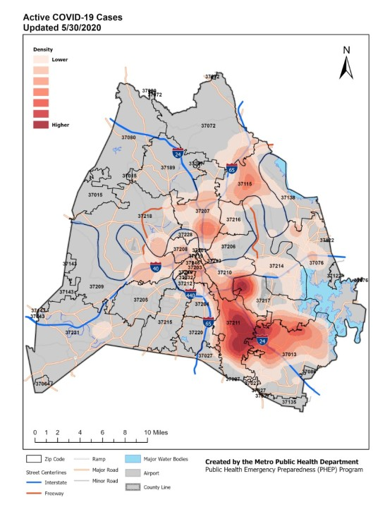 June 2 active heatmaps