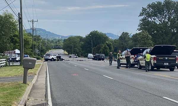 Brentwood officer killed in crash