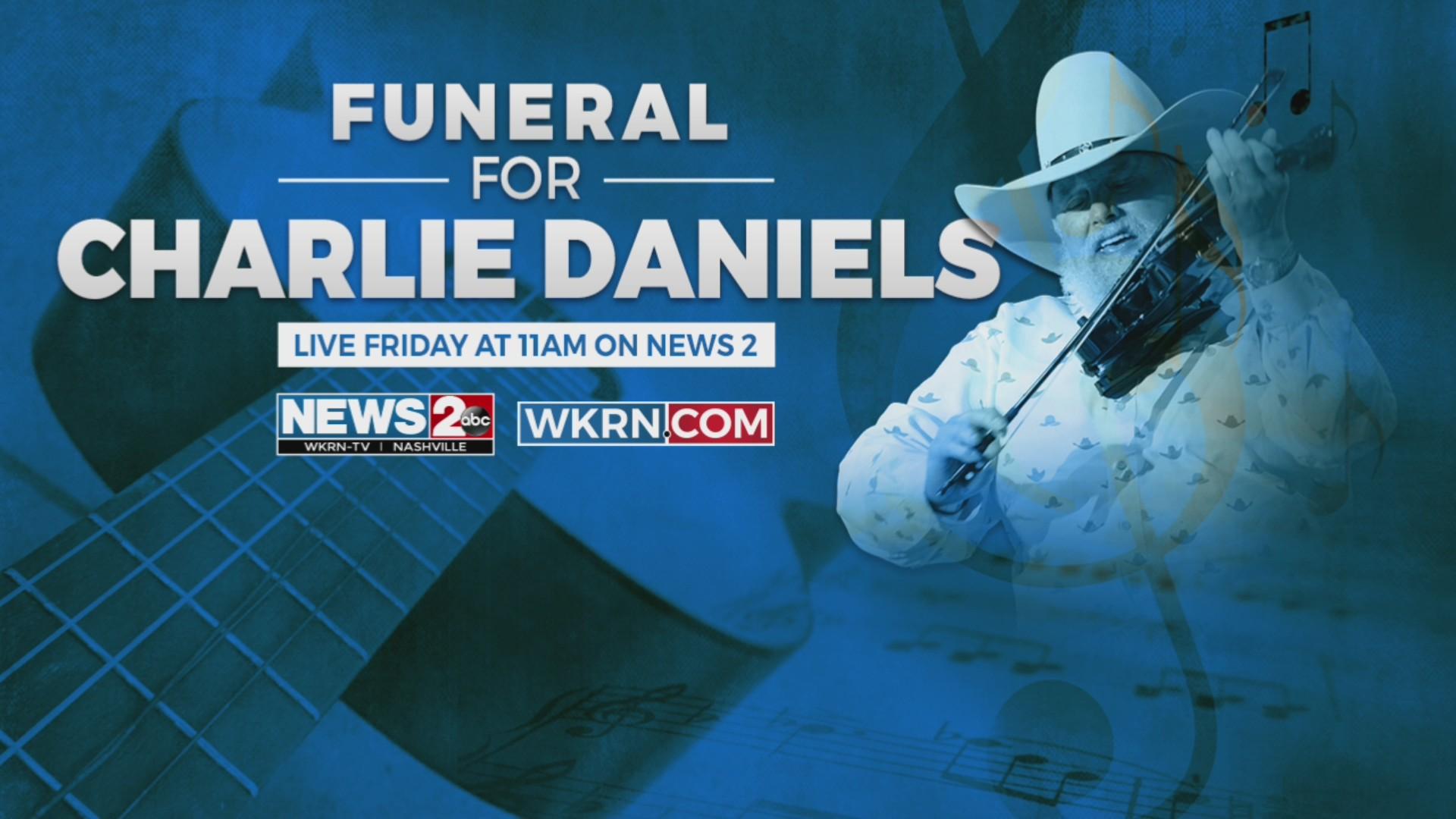 Charlie Daniels funeral