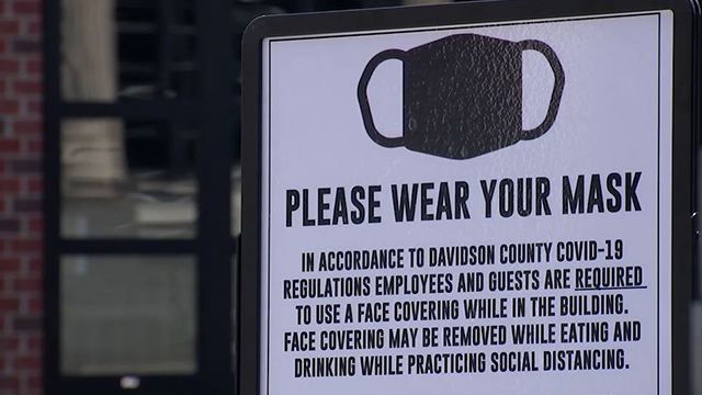 Nashville Davidson County masks generic