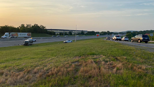 teen ejected from I-24 crash