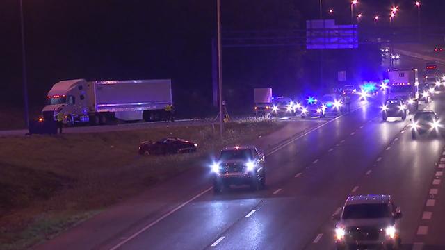fatal crash along I-40 Donelson Pike