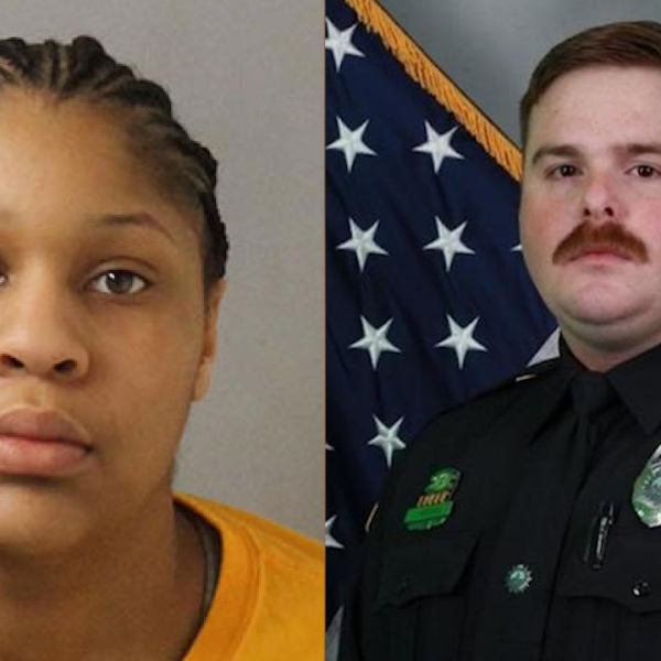 Jayona Brown & Metro Officer John Anderson