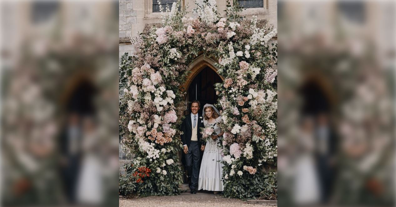 Uk Royal Princess Beatrice Shares Wedding Photos Wkrn News 2