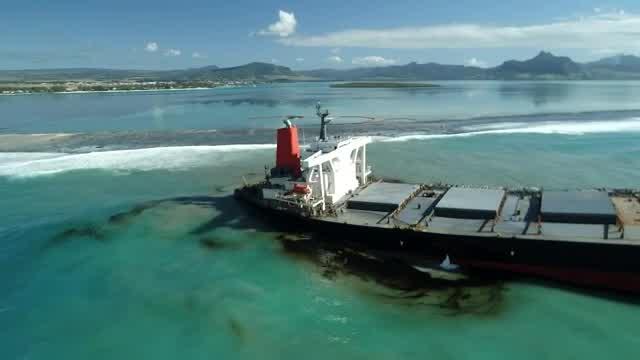 Mauritius tanker