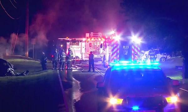 fatal crash off Old Hickory Boulevard
