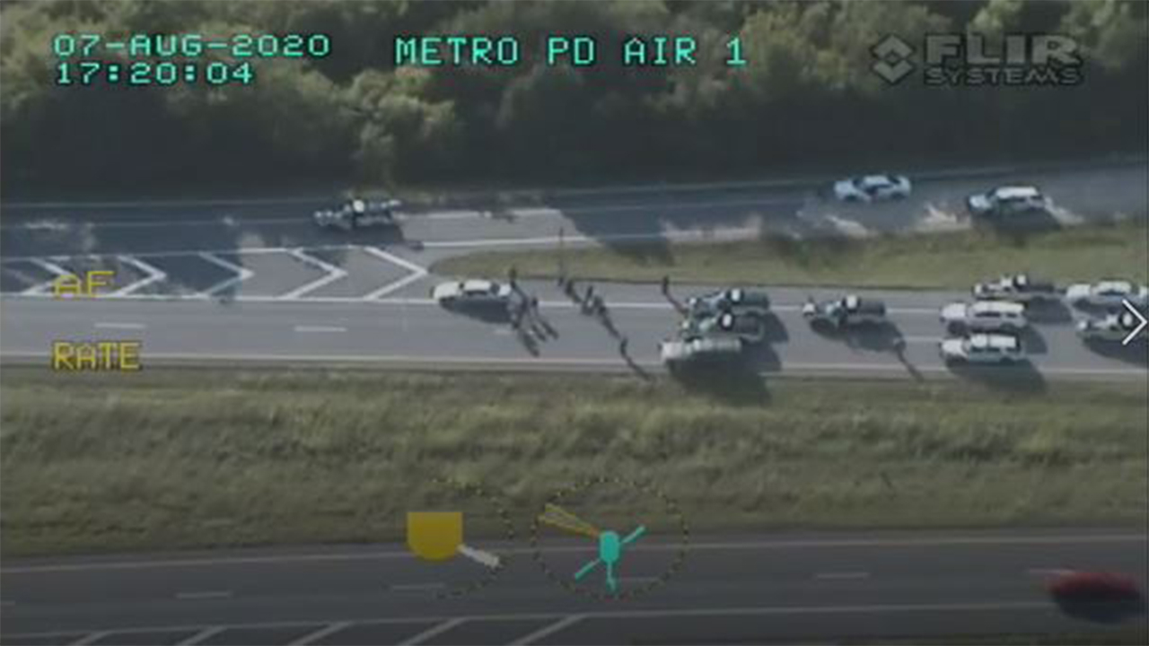 MNPD Police Chase Video