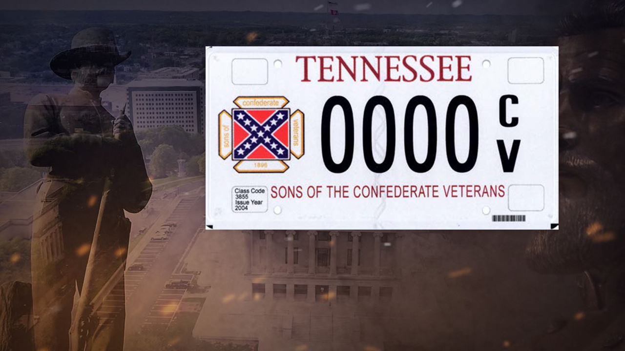 Sons of Confederate Veterans License Plate