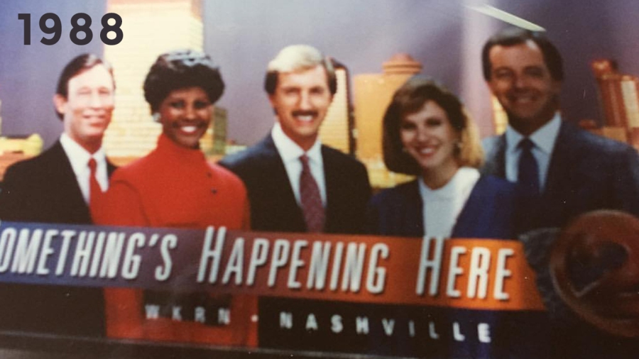 1988: Davis Nolan, Anne Holt, Bob Mueller, Cyndee Benson and Steve Phillips