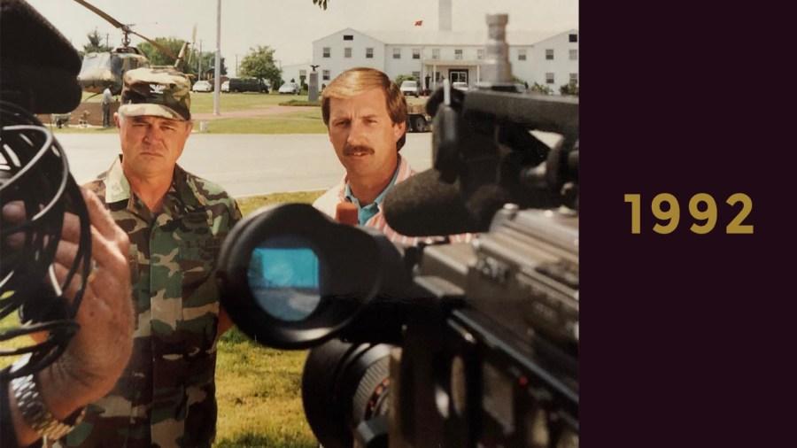 1992: Hometown Tour visits Ft. Campbell, Kentucky
