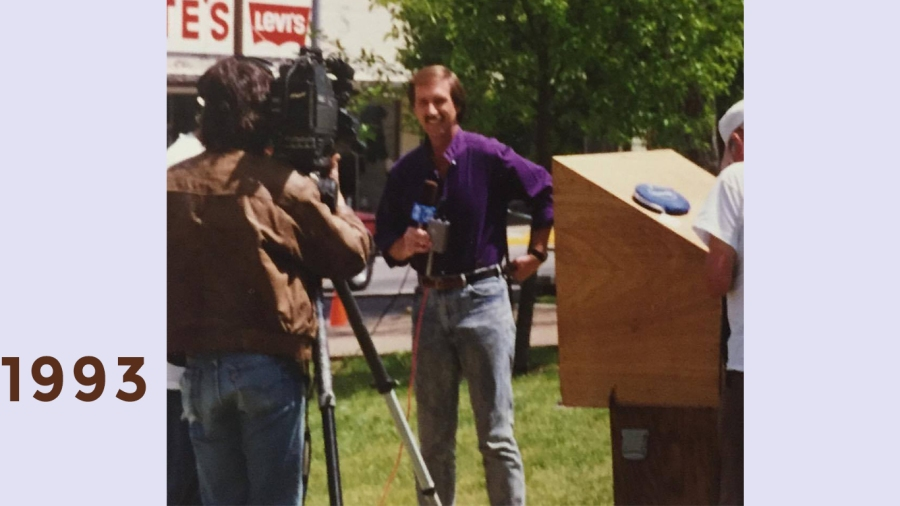 1993: Hometown Tour visits Waverly