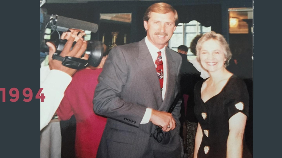 1994: First Lady of Nashville Andrea Conte
