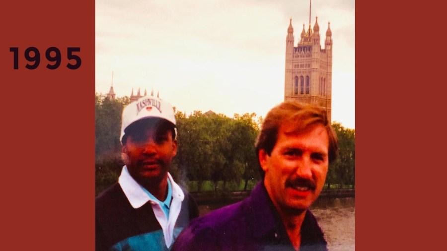 1995 London nonstop flight