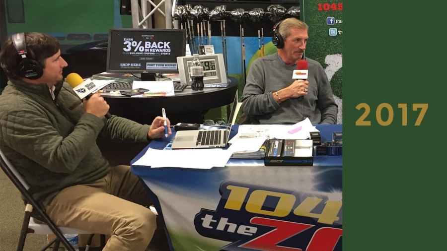 2017: Michaels and Mueller on 104.7 The Zone