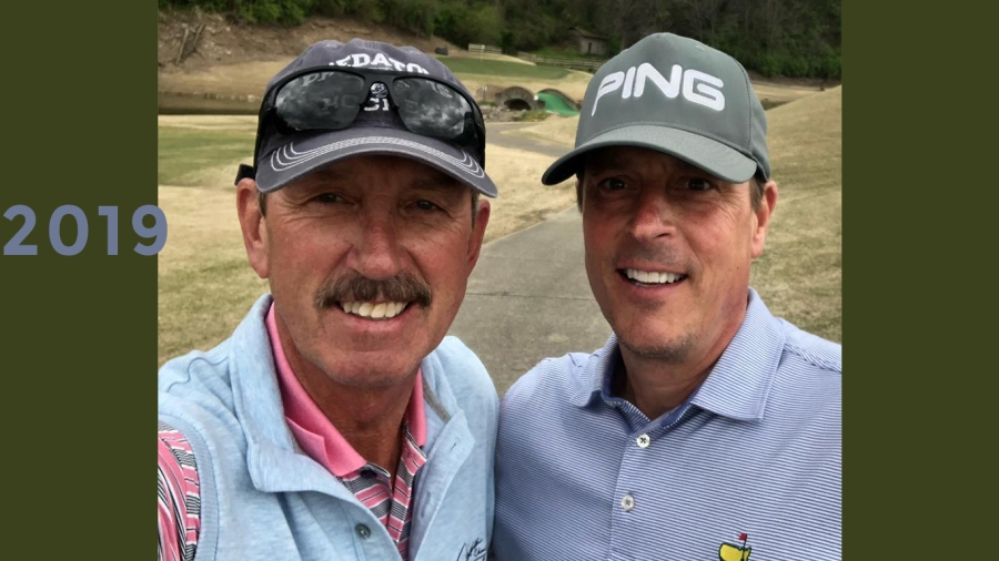 2019: Bob and Neil Orne at Gaylord Links