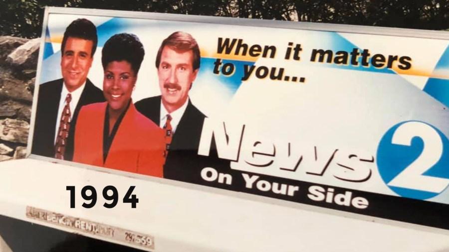 1994 Bus Bench Promo