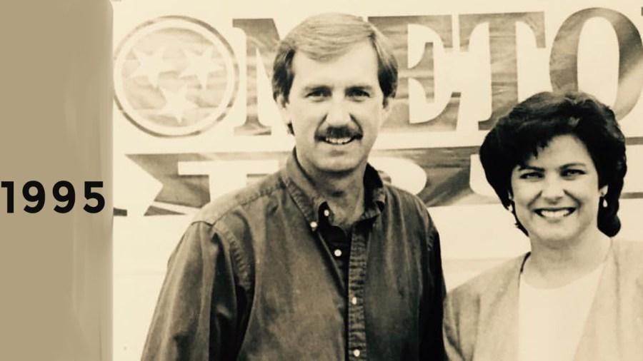 1995: Bob and Lisa Patton launch Hometown Tour