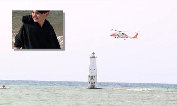 Coffee County boy missing in Lake Michigan