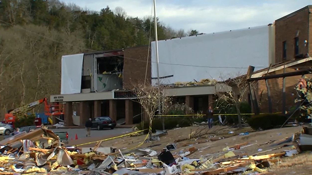 Donelson Christian Academy tornado