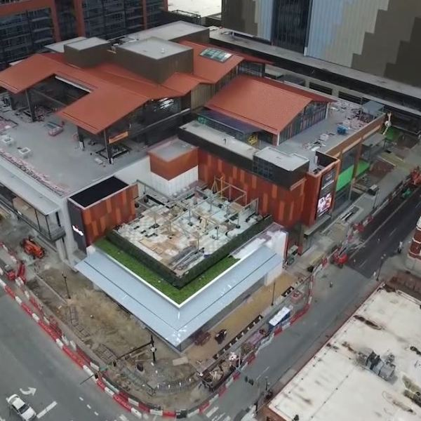 Fifth and Broadway Drone