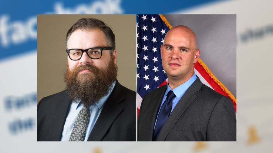Chad Hindman (left) and James Smallwood (right)
