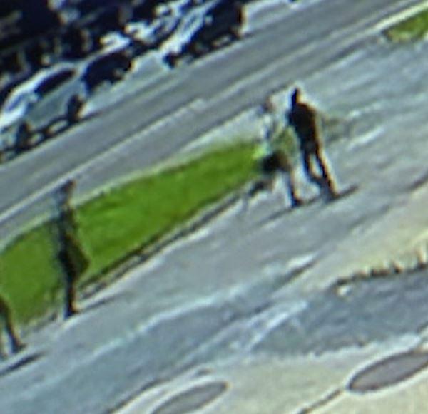 Citizen tackles suspect