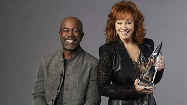 Reba and Darius Rucker