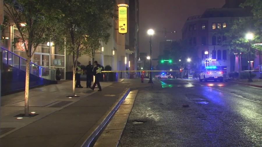 pedestrian hit-and-run Church Street