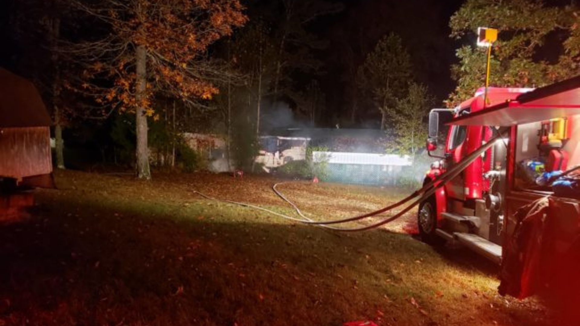 Springville Tennessee Mobile Home Fire