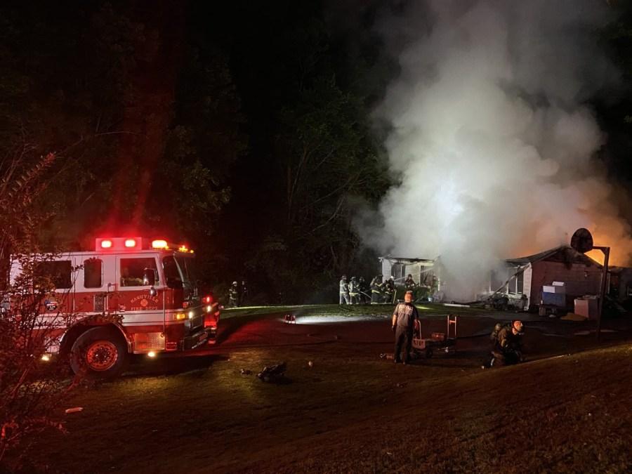 whites creek pike fire
