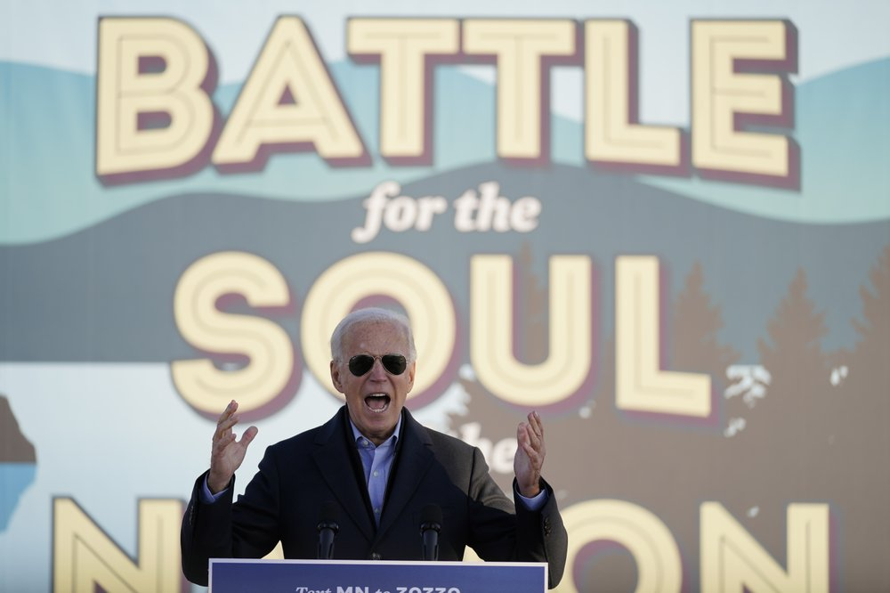 Joe Biden altered video
