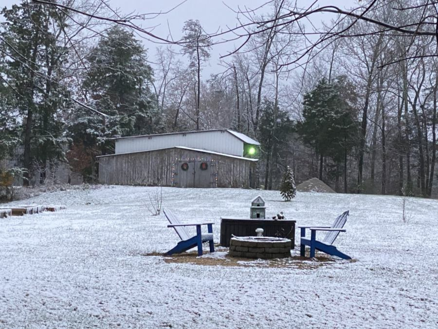 Hilham, Overton County snow