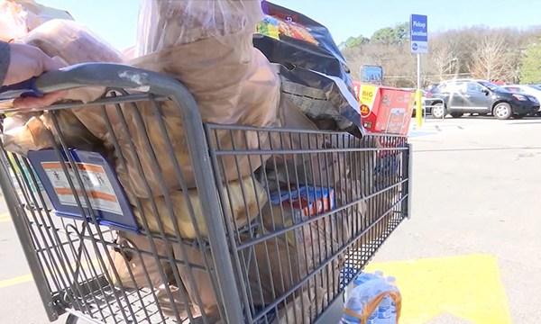 shopping cart grocery Kroger generic