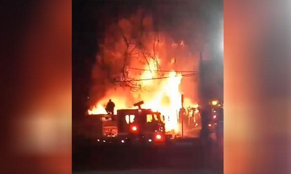 Petway Avenue fire