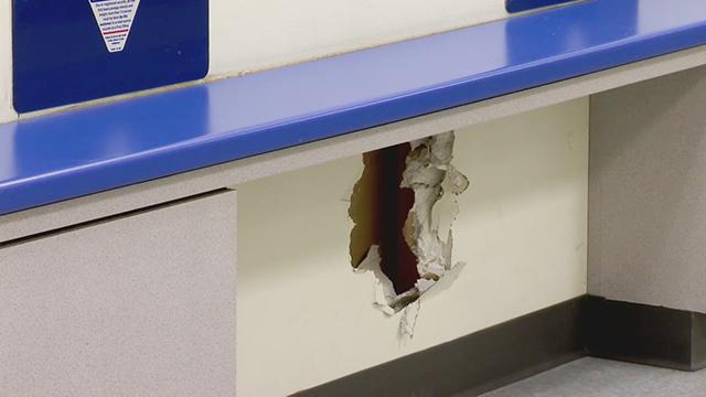 La Vergne post office damage