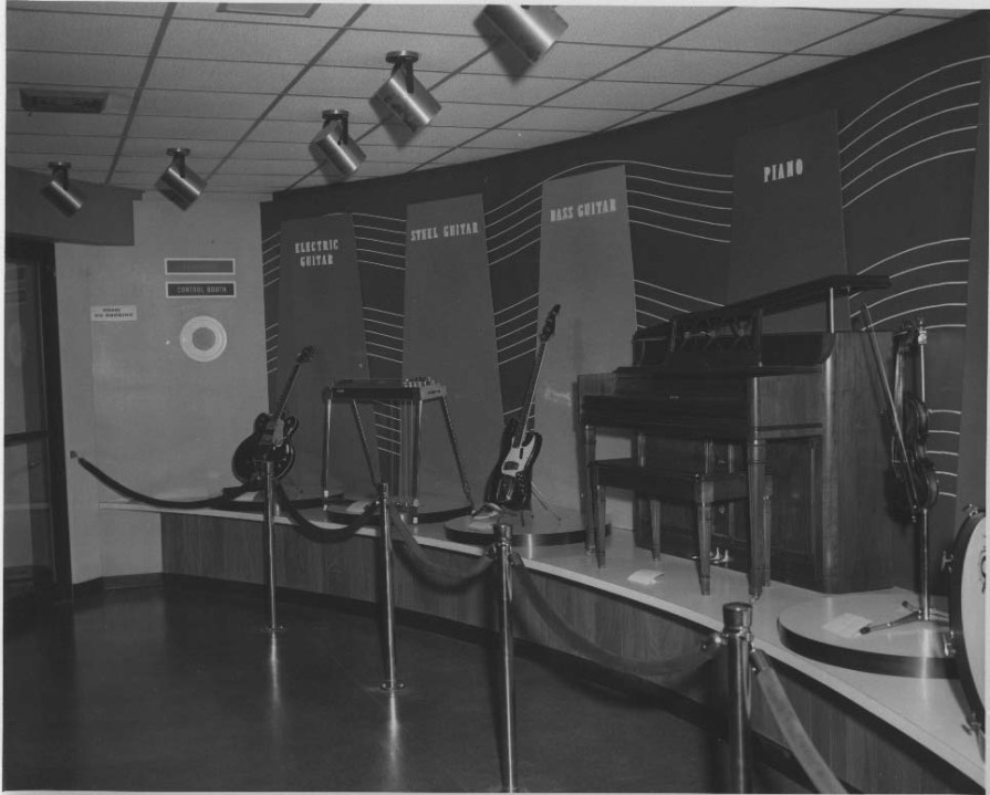 Instruments at CMHOF 1967