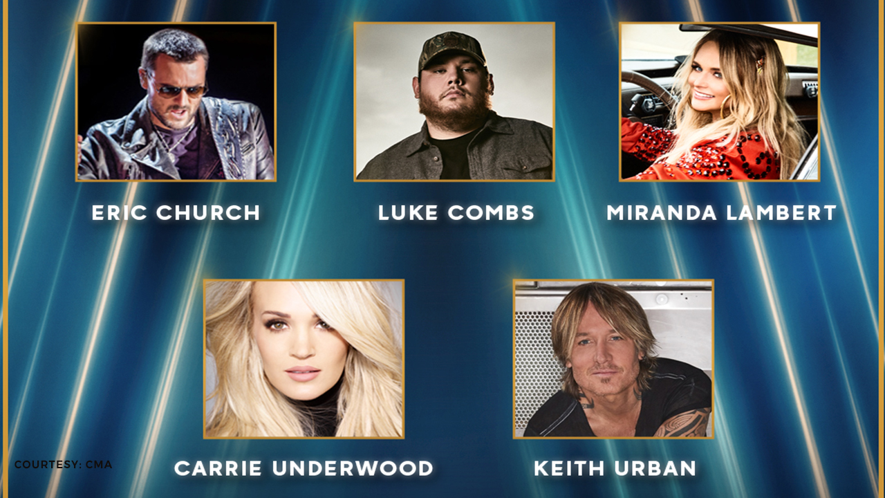 CMA entertainer of the year nominees