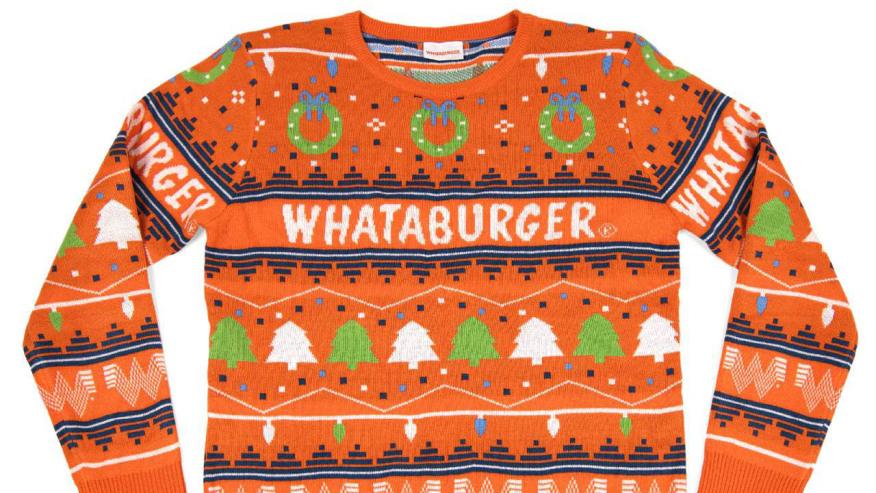 Whataburger sweater