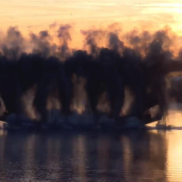 McClure bridge implosion