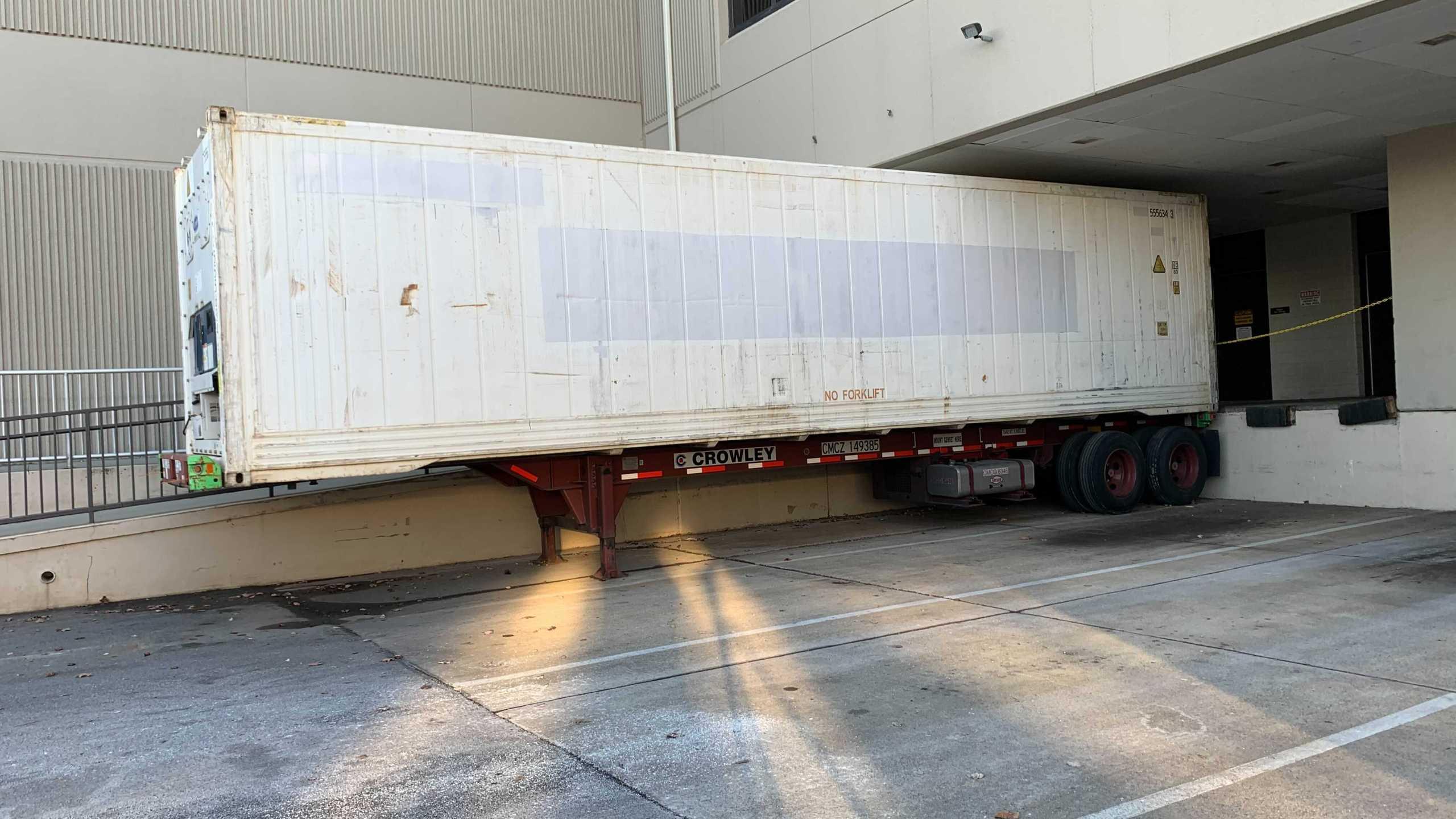 Ballard Health mobile morgue