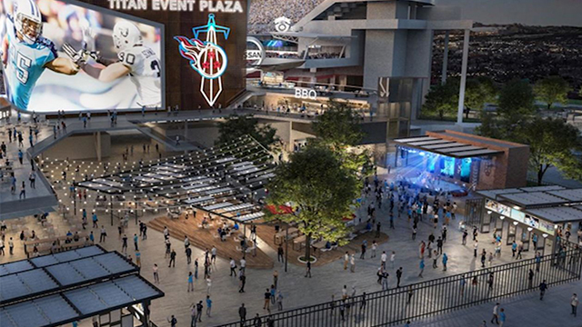 Nissan Stadium renderings